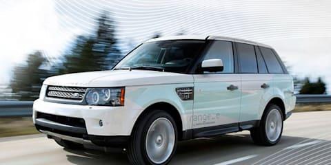 2013 Range Rover Range_e diesel hybrid revealed