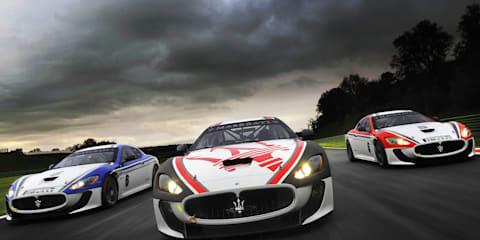 2011 Master Maserati driving school program
