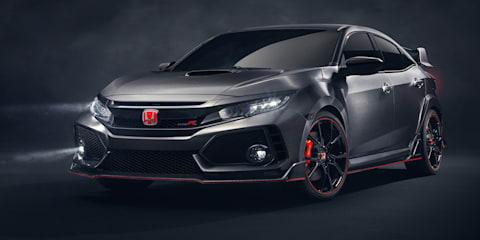 2017 Honda Civic Type R will cost around $50k in Australia