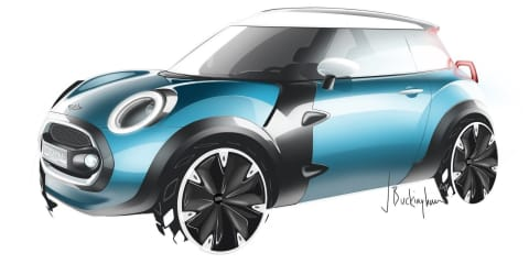 Mini rules out smaller cars for now, but hints at future 'Rocketman' EV