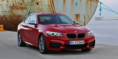 BMW 2 Series coupe priced from $50,500