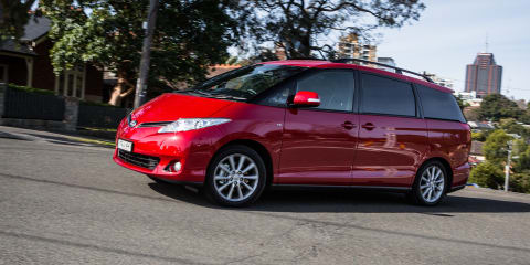 2016 Toyota Tarago GLX V6 Review