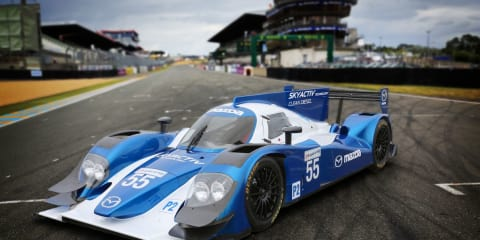 Mazda announces SkyActiv-D diesel engines for Le Mans