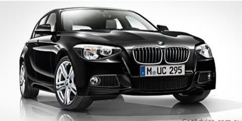 2012 BMW 1 Series M Sport pack revealed