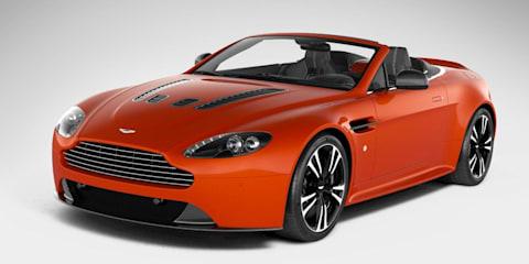 Aston Martin V12 Vantage Roadster leaked