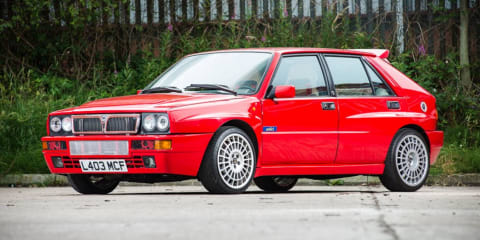 Jay Kay's Lancia Delta Integrale goes to auction