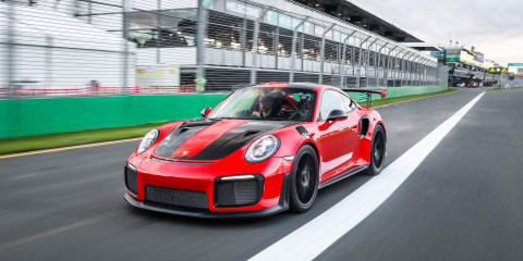 Porsche GT2 RS hits the Nurburgring - video