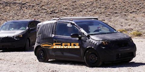 Volkswagen Lupo prototype spied with Skoda twin