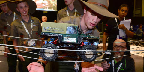 Australian students beat global rivals in Land Rover 4x4 challenge
