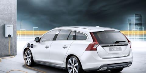 Volvo V60 Plug-in Hybrid test drive