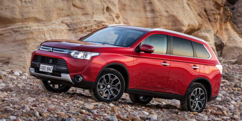 Mitsubishi Outlander : Pricing and specifications for MY14.5 update