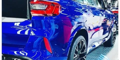 2020 BMW X5 M, X6 M leaked