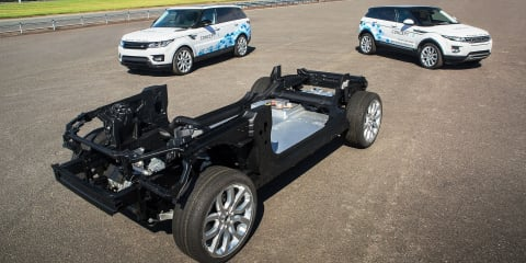 Jaguar Land Rover shows off new prototype hybrid and EV drivetrain modules
