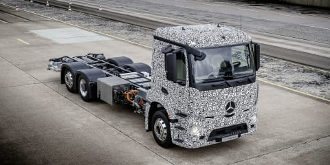 Mercedes-Benz Urban eTruck beats Tesla to the electric freight game