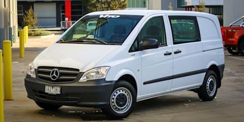 Mercedes-Benz Vito, Viano and Valente join Takata recall