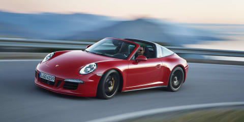 Porsche 911 Targa 4 GTS uncovered