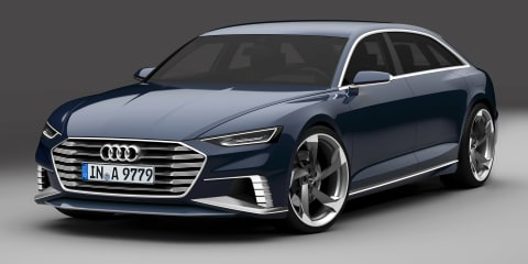 Audi Prologue Avant concept for Geneva show previews aggressive future design