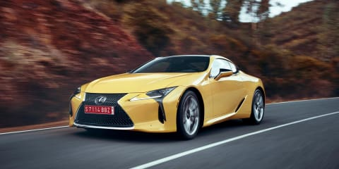 Lexus LC500: 'The most rigid chassis Lexus has ever built'