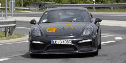 Porsche Cayman GT4 inadvertently revealed on car maker's website