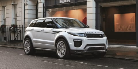 2016 Range Rover Evoque unveiled with new styling, engines and technology