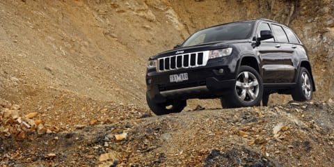 2011 Jeep Grand Cherokee diesel on sale in Australia