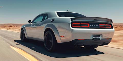 2019 Dodge Challenger SRT Hellcat Redeye unveiled, range updated