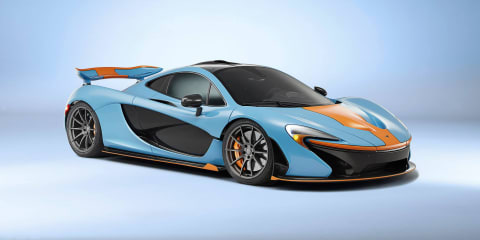 McLaren P1 gets dressed up in Gulf colours