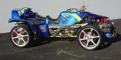 WRX STi-Powered ATV