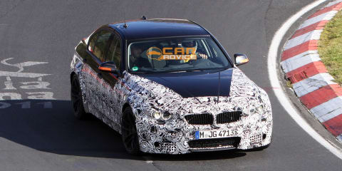 2014 BMW M3 spied on the Nurburgring again