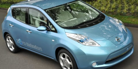 Nissan Leaf 20,000 to be presold in USA