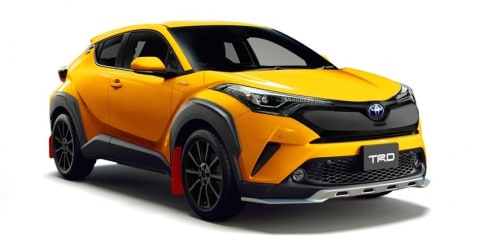 Toyota C-HR gets the TRD treatment