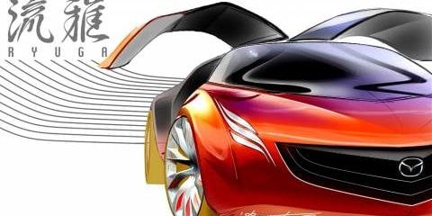 Mazda Ryuga Concept & Mazda Tribute HEV