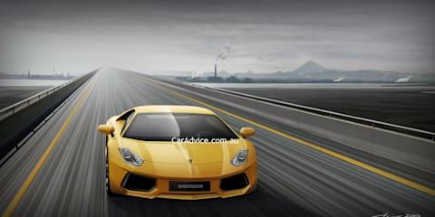 Lamborghini Jota/Aventador Spy CGI