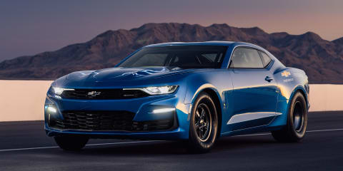 Chevrolet Camaro eCOPO: Electric drag racer unveiled
