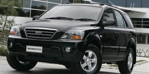 Kia Sorento CRDi 2.5 litre Turbo Diesel