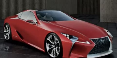 Lexus LF-Lc sports car concept leaked: the new SC430?