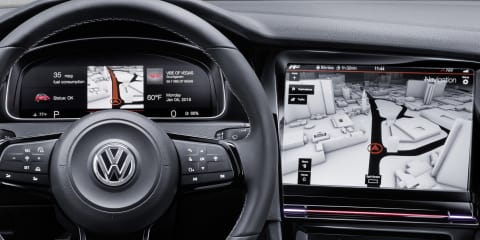 Volkswagen interiors could go button-less in the near future