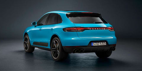 Porsche Macan facelift revealed, here first half of 2019
