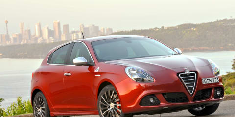 2011 Alfa Romeo Giulietta on sale in Australia