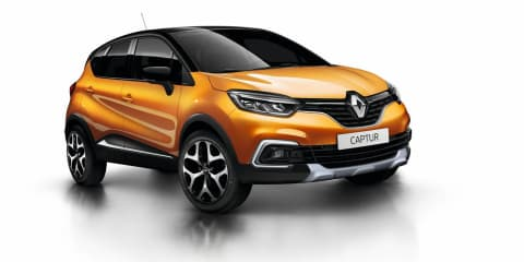 2018 Renault Captur pricing and specs