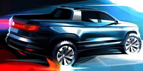 Volkswagen teases ute concept for São Paulo