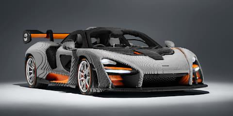McLaren Senna: Full scale Lego model revealed