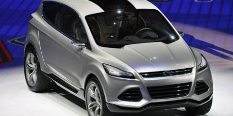 Ford Vertrek concept at the Detroit Auto Show