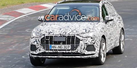 2019 Audi RS Q3 spied again