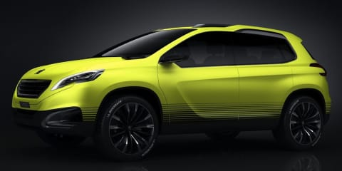 Peugeot 2008 concept previews new compact SUV
