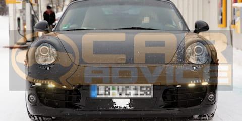 2011 Porsche 911 spy photos