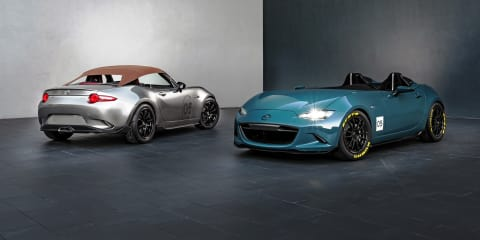 Mazda MX-5 Speedster and Spyder introduced at SEMA 2015