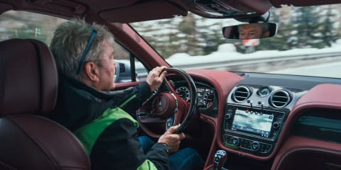 Bentayga V8: Talking active anti-roll with Peter Guest