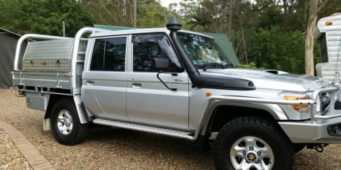 2012 Toyota Landcruiser Gxl (4x4) Review