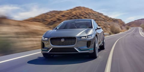 Jaguar I-Pace leaps ahead of German brands